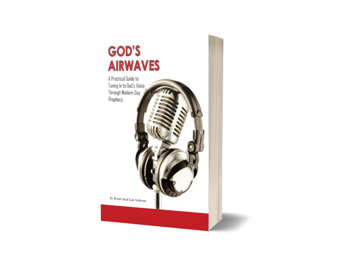 3d book cover for Gods Airwaves book on prophecy